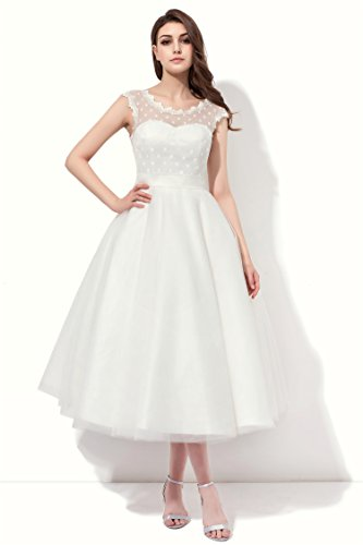 Brautkleid Vintage Style, Weiß