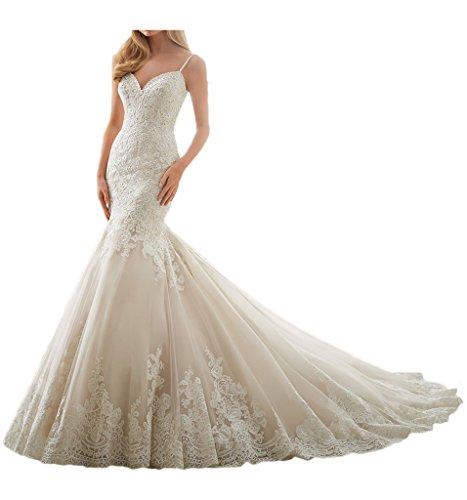Milano Bride elegantes Hochzeitskleid im Meerjungfraustil