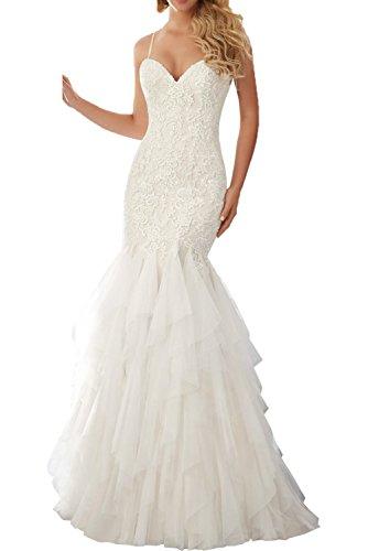 Milano Bride Attraktives Brautkleid mit Herz-Ausschnitt