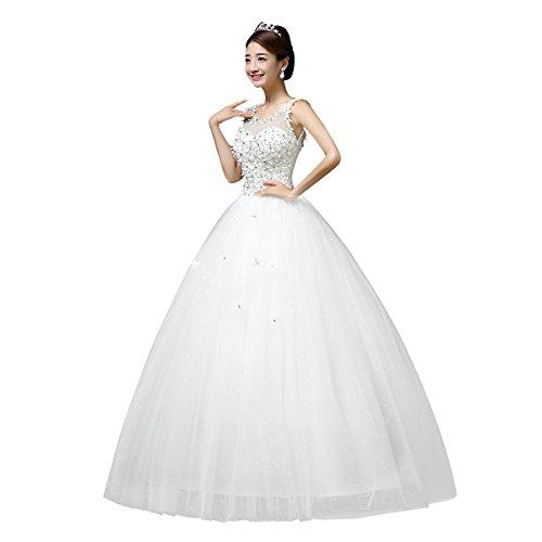 Viktion Langes Hochzeitkleid