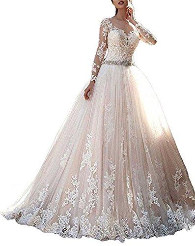 Cloverbridal Elegantes Hochzeitskleid, A Linie