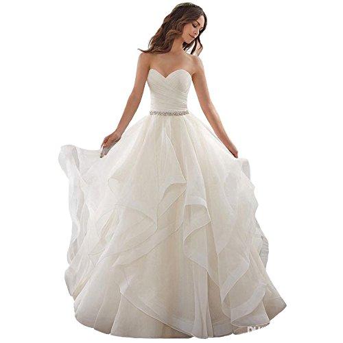 Cloverbridal Elegantes Prinzessinnen Hochzeitskleid