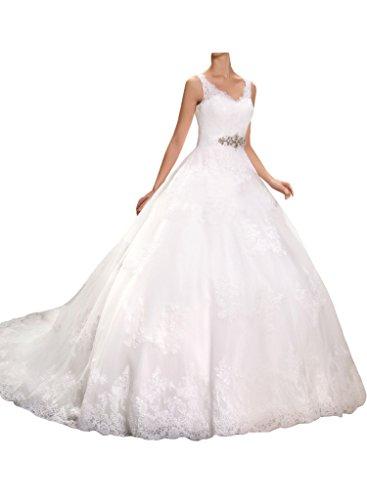 Milano Prinzessinnen Hochzeitskleid Kristallband
