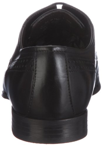 Bugatti U18011, Herren Derby Schnürhalbschuhe, Schwarz (schwarz 100), 43 EU - 2