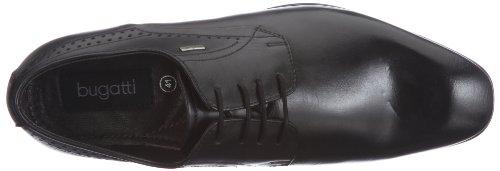 Bugatti U18011, Herren Derby Schnürhalbschuhe, Schwarz (schwarz 100), 43 EU - 7