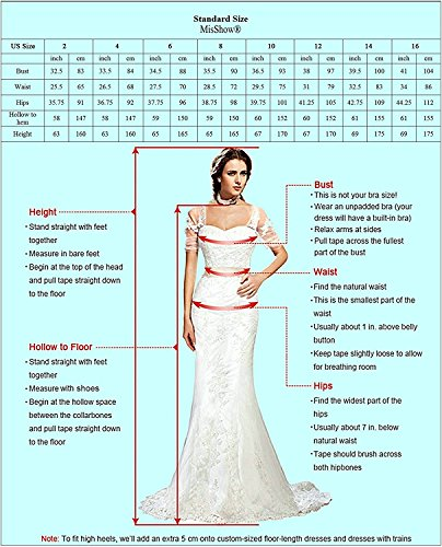 Damen Kleid Festliche Kleider für Hochzeit Brautjungferkleider Hochzeitskleider Cocktailkleid Chiffon Elegant Langes Abendkleid Royalblau Gr.46 - 3