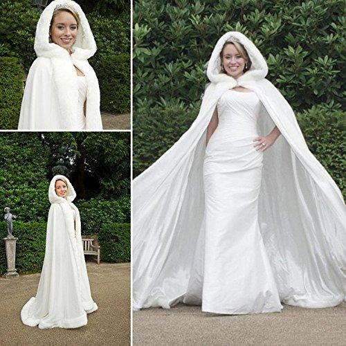 Brautmantel lang
