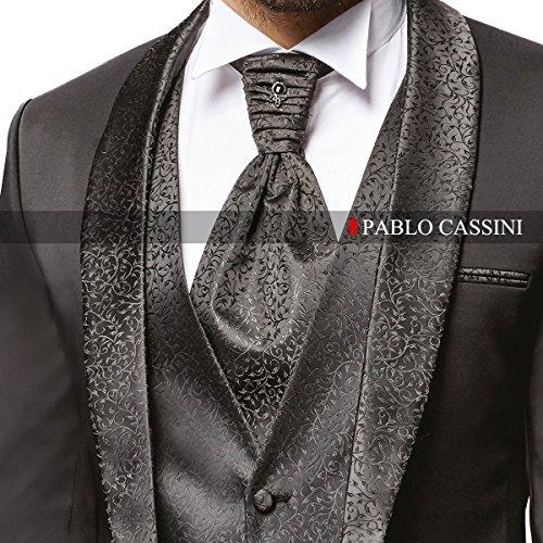 Herren Anzug - 8 teilig - Schwarz Hochzeitsanzug TOP ANGEBOT NEU PC_22 (52) -