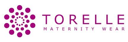 Torelle Maternity Wear Damen Umstandskleid Brautkleid Spitze für Schwangere, Modell: Natalie, Creme, L - 7