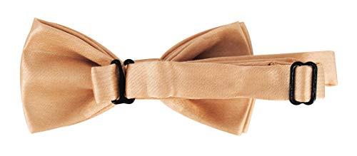 axy® Vater-Sohn Partnerlook Hosenträger mit Fliege Set für Herren-Damen-Kinder (Beige (Herren 2,5cm + Kinder Hosenträger Breit 2,5cm)) - 7