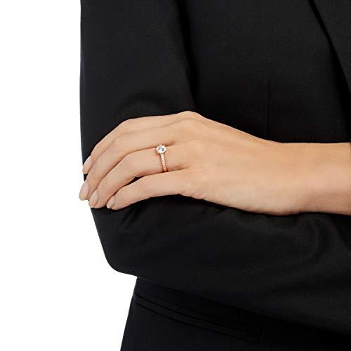 SWAROVSKI Damen-Ringe Edelstahl Kristall '- Ringgröße 58 - 2