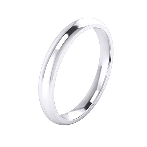 LANDA JEWEL Ehering - 0,925 Sterling-Silber 925