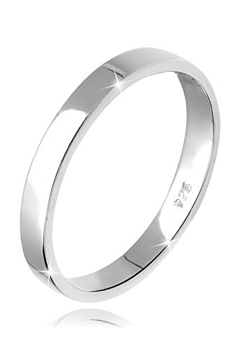 Elli Ring Damen Basic Bandring in 925 Sterling Silber