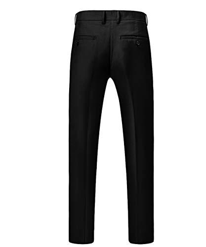 Anzug Herren Anzug Slim Fit 3 Teilig Herrenanzug 3-Teilig Anzüge Herren Modern Sakko für Business Hochzeit - 5