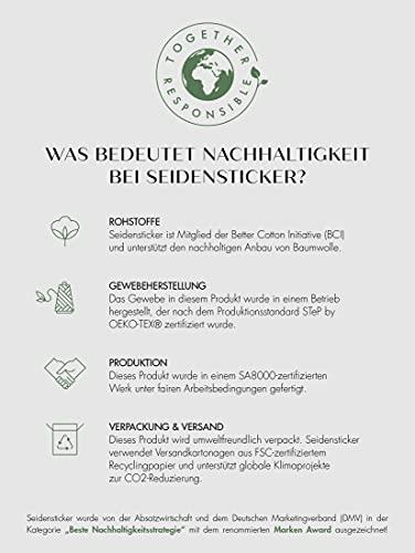 Seidensticker Herren Smoking Hemd, Weiß (01 Weiß), 40 - 8