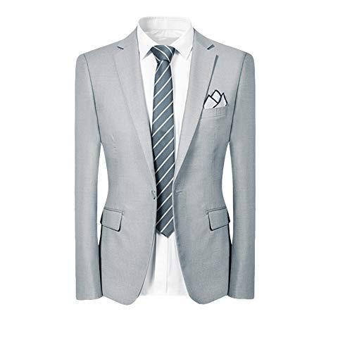 Allthemen Hochzeitsanzug Herren Anzug Slim Fit Herrenanzug Anzüge für Hochzeit Business Party - 2