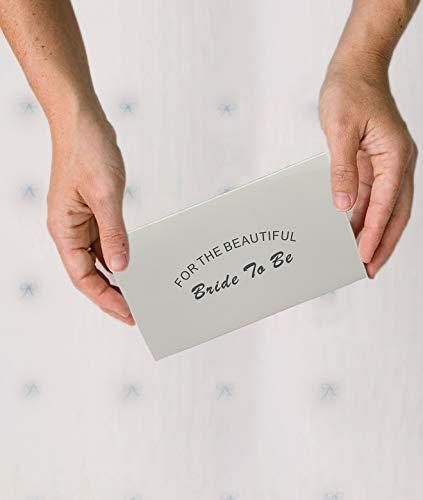 ILLUVA Blau Weisses Strumpfband für Hochzeit - Braut Geschenk - Wedding Garters - etwas Blaue - 6