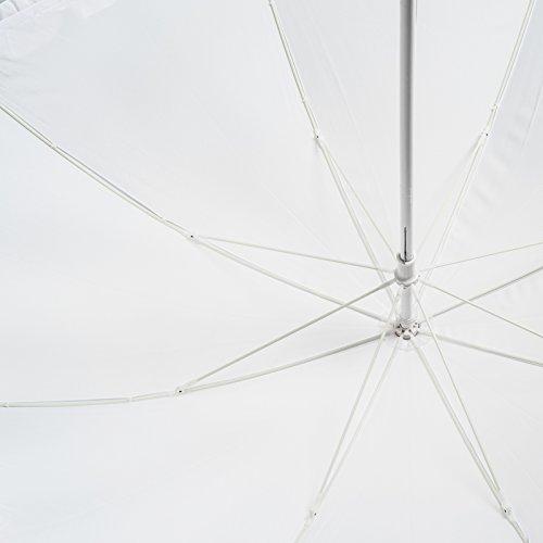 Bolero Sonnenschirm, klassisch, lang, für Hochzeit, manuelle Öffnung, Pongee-Stoff mit Ruffle - 6