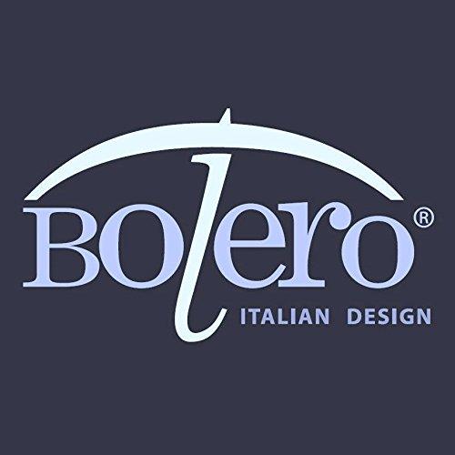 Bolero Sonnenschirm, klassisch, lang, für Hochzeit, manuelle Öffnung, Pongee-Stoff mit Ruffle - 7