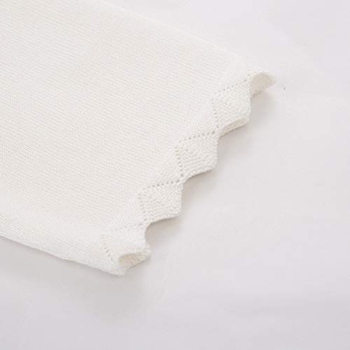 GRACE KARIN Damen Cropped Knit Bolero für Kleid Open Front Kurz Strickjacke Elegant Cardigan M CL960-2 - 5
