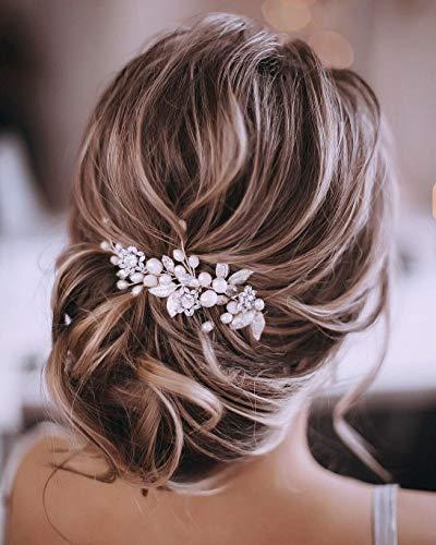 Haarschmuck für die Braut (Silber)