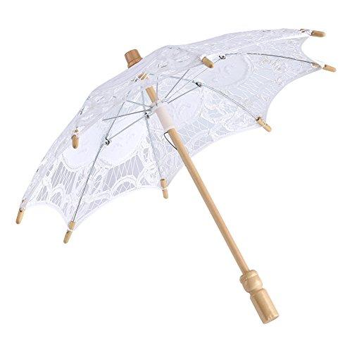 Regenschirm Vintage Hochzeit Reine Baumwolle