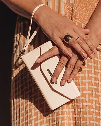 IDEAL OF SWEDEN Mayfair Handytaschen Clutch für iPhone 11 (Saffiano Vegan Leather) (Beige) - 2