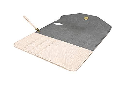 IDEAL OF SWEDEN Mayfair Handytaschen Clutch für iPhone 11 (Saffiano Vegan Leather) (Beige) - 3