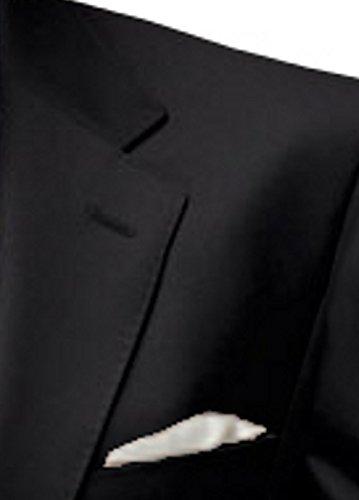 Anzug slim fit, schwarz aus Business Traveller Stoff -deutsche Konfektion (Baukasten Option möglich) - 2