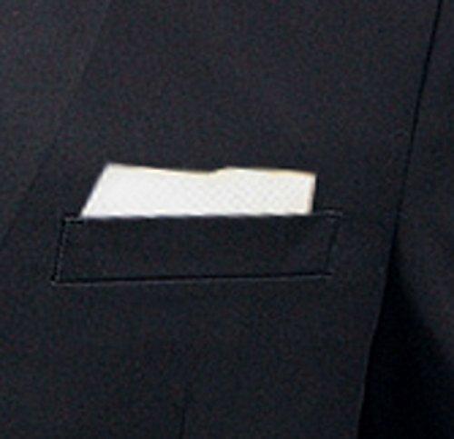 Anzug slim fit, schwarz aus Business Traveller Stoff -deutsche Konfektion (Baukasten Option möglich) - 5