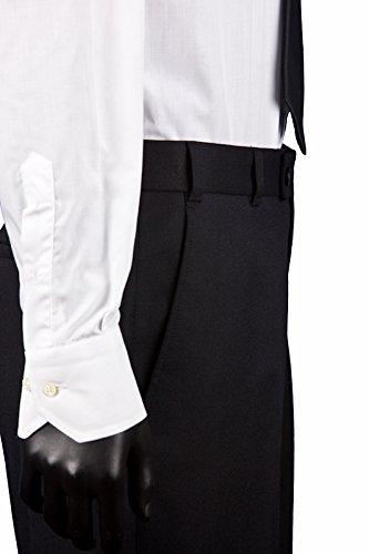 Anzug slim fit, schwarz aus Business Traveller Stoff -deutsche Konfektion (Baukasten Option möglich) - 7