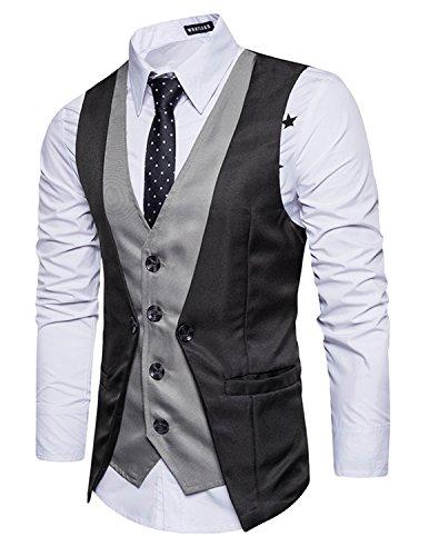 Leisure Herren Anzugweste Gentleman Basic Mode