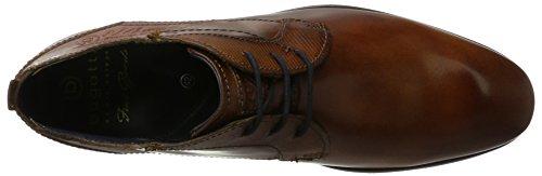Bugatti Herren 311151042500 Derbys, Braun (Cognac), 43 EU - 7