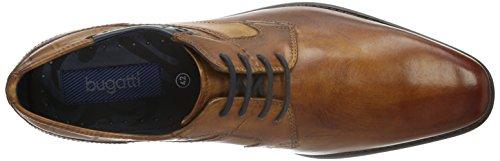 Bugatti 312130051100, Herren Derby Schnürhalbschuhe, Braun (Cognac 6300), 42 EU - 7