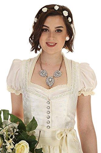 Turi Landhaus Damen Brautdirndl D711080080 Katja Hochzeit 1002champagner - 4