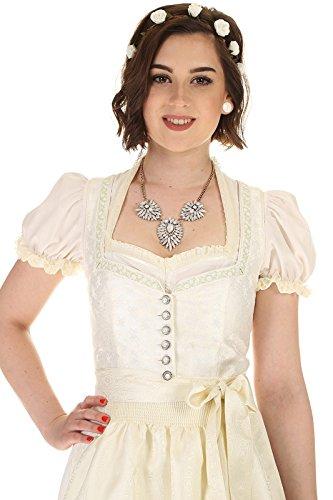 Turi Landhaus Damen Brautdirndl D711080080 Katja Hochzeit 1002champagner - 5