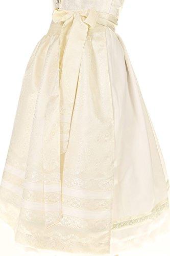 Turi Landhaus Damen Brautdirndl D711080080 Katja Hochzeit 1002champagner - 6