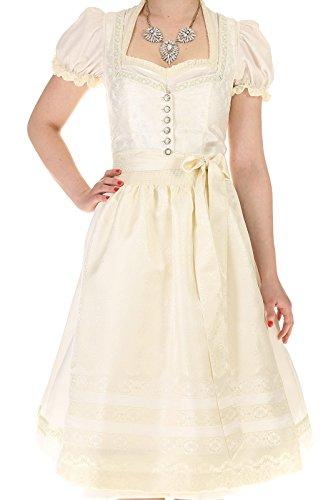 Turi Landhaus Damen Brautdirndl D711080080 Katja Hochzeit 1002champagner - 8