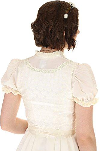 Turi Landhaus Damen Brautdirndl D711080080 Katja Hochzeit 1002champagner - 9