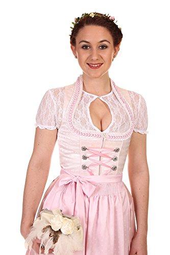 Königssee Tracht Damen Brautdirndl D611103 mit Bluse - 3