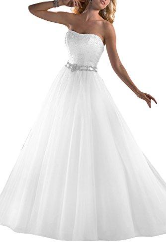 Gorgeous Bride Modisches Brautkleid, trägerlos