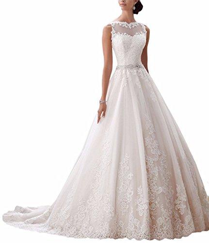 Ever Love Hochzeitskleid mit Stickerei Ivory36