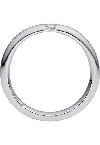 CHRIST Diamonds Damen-Ring 333er Weißgold 1 Brillanten ca. 0,06 ct. weißgold, 54 (17.2) - 3