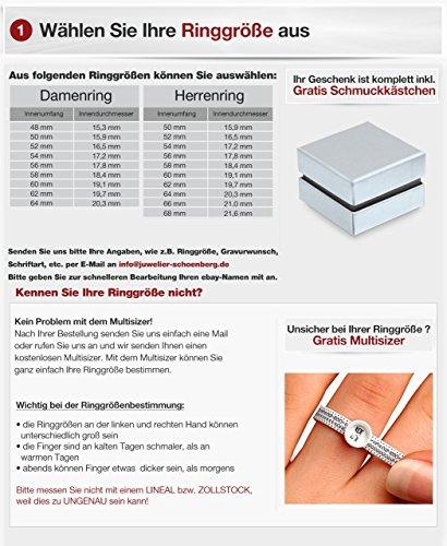 Flame -Ringe 2 Trauringe Titan Rosegold vergoldet Zirkonia mindestens 36 Steine weiss -gratis Gravur T-AT-HD - 4