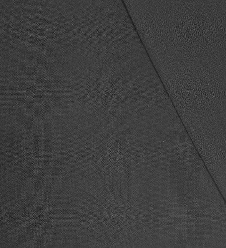 Schwarzer Hochzeitsanzug Set 7tlg + Hochzeitswesten Set silber grau paisley + Hochzeitshemd weiß - 5