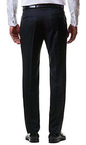 Paco Romano Herren Smoking Anzug Jacket Sakko Hose Schwarz 2-Teilig Slim Fit Premium Cotton 80% Wolle Gentleman Hochzeit Feier Dinner 67712, Farbe:Schwarz, Größe:54 / XL - 6