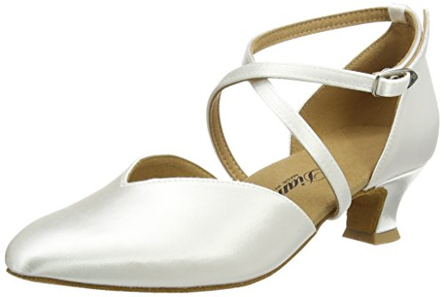 Diamant Brautschuhe in Weiß