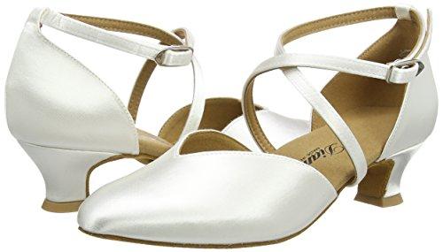 Diamant Brautschuhe Standard Tanzschuhe 107-013-092 Damen Tanzschuhe - Standard & Latein, Damen Tanzschuhe - Standard & Latein, Weiß (Weiß), 40 EU (6.5 Damen UK) - 5