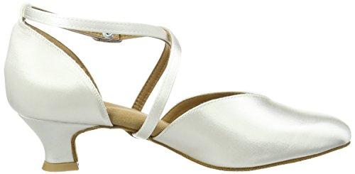 Diamant Brautschuhe Standard Tanzschuhe 107-013-092 Damen Tanzschuhe - Standard & Latein, Damen Tanzschuhe - Standard & Latein, Weiß (Weiß), 40 EU (6.5 Damen UK) - 6