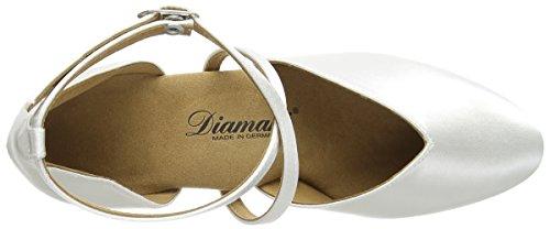 Diamant Brautschuhe Standard Tanzschuhe 107-013-092 Damen Tanzschuhe - Standard & Latein, Damen Tanzschuhe - Standard & Latein, Weiß (Weiß), 40 EU (6.5 Damen UK) - 7